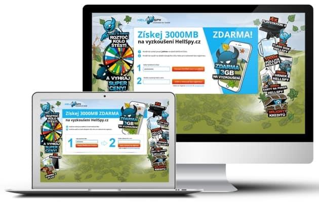 Hellspy.cz - 3 000 MB kredit zdarma